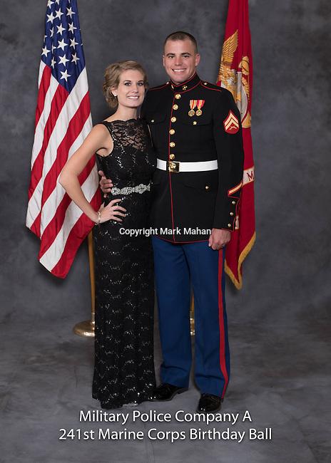 Kreke at the Military Police Company A 241 Marine Corps Birthday Ball, Saturday Nov. 19, 2016  in Lexington, Ky. Photo by Mark Mahan