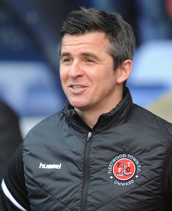 Fleetwood Town manager Joey Barton <br /> <br /> Photographer Kevin Barnes/CameraSport<br /> <br /> The EFL Sky Bet League One - Shrewsbury Town v Fleetwood Town - Tuesday 1st January 2019 - New Meadow - Shrewsbury<br /> <br /> World Copyright © 2019 CameraSport. All rights reserved. 43 Linden Ave. Countesthorpe. Leicester. England. LE8 5PG - Tel: +44 (0) 116 277 4147 - admin@camerasport.com - www.camerasport.com