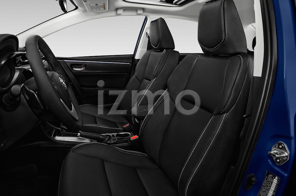 Front seat view of 2016 Toyota Corolla S Premium 4 Door Sedan Front Seat  car photos