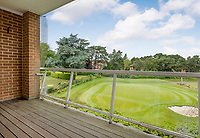 BNPS.co.uk (01202 558833)<br /> Pic: EdwardsEstates/BNPS<br /> <br /> Pictured: A view of the green from the property<br /> <br /> The perfect bolt-hole for any golf fanatic has gone on the market - an apartment that looks down on the 18th green of the country's most prestigious courses.<br /> <br /> The three bedroom flat sits behind the last green Ferndown Golf Club in Dorset where legendary commentator Peter Alliss is a member.<br /> <br /> The £2,000 a year club also hosts annual qualifying events for the Open Championship and is the home course of football boss Harry Redknapp.