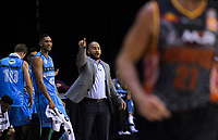 Breakers coach Kevin Braswell during the Australian National Basketball League match between Skycity Breakers and Illawarra Hawks at TSB Bank Arena in Wellington, New Zealand on Thursday, 14 February 2019. Photo: Dave Lintott / lintottphoto.co.nz