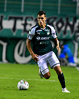 PALMIRA-COLOMBIA, 19-02-2019: Juan Ignacio Dinenno, jugador de Deportivo Cali, en acción durante partido de la fecha 5 entre Deportivo Cali y Unión Magdalena, por la Liga Aguila I 2019, jugado en el estadio Deportivo Cali (Palmaseca) en la ciudad de Palmira. / Juan Ignacio Dinenno player of Deportivo Cali, in action during a match of the 5th date between Deportivo Cali and Union Magdalena, for the Liga Aguila I 2019, at the Deportivo Cali (Palmaseca) stadium in Palmira city. Photo: VizzorImage  / Nelson Ríos / Cont.