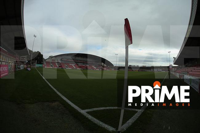 General Stadium views ahead of  the Sky Bet League 1 match between Fleetwood Town and Rochdale at Highbury Stadium, Fleetwood, England on 18 August 2018. Photo by Stephen Gaunt / PRiME Media Images.