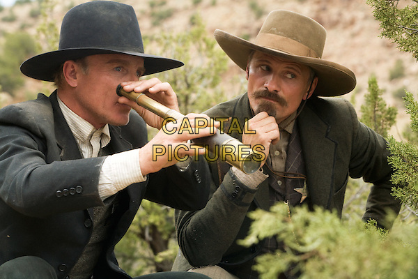 Appaloosa (2008) <br /> Ed Harris, Viggo Mortensen<br /> *Filmstill - Editorial Use Only*<br /> CAP/KFS<br /> Image supplied by Capital Pictures