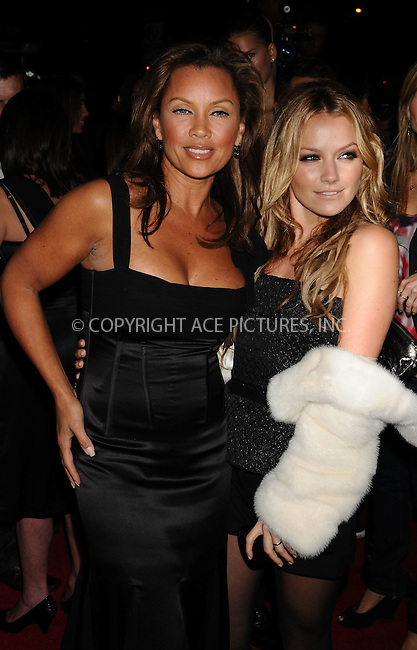 WWW.ACEPIXS.COM . . . . .  ....October 13 2008, New York City....Actresses Vanessa Williams and Becki Newton arriving at a screening of 'Filth and Wisdom' hosted by The Cinema Society and Dolce and Gabbana at the IFC Center on October 13, 2008 in New York City. ....Please byline: AJ Sokalner - ACEPIXS.COM..... *** ***..Ace Pictures, Inc:  ..te: (646) 769 0430..e-mail: info@acepixs.com..web: http://www.acepixs.com