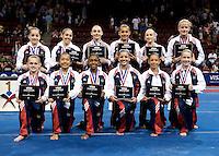 06/07/08 - Women's VISA Championships Agganis Areana in Boston Univeristy.  Jr Women Finals.Podium