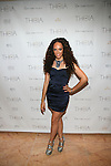 Radio Producer Grace Gibson Attends Theia Spring 2014 Presentation Held at the New York Palace, NY