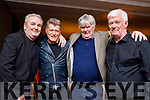 Frank Hartnett, Liam O'Connor, Jimmy Ross (Christie's Brother) and Nick Moloney the Christie Hennessy Festival at the Ashe hotel, Tralee on Friday night.