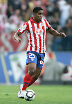 Atletico de Madrid's Cleber Santana during La Liga match. September 12, 2009. (ALTERPHOTOS/Alvaro Hernandez)