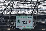 10.03.2018, HDI Arena, Hannover, GER, 1.FBL, Hannover 96 vs FC Augsburg<br /> <br /> im Bild<br /> Anzeigetafel / Endstand, Feature, <br /> <br /> Foto &copy; nordphoto / Ewert