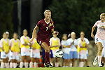 27 September 2012: Florida State's Dagny Brynjarsdottir (ISL). The University of North Carolina Tar Heels played the Florida State University Seminoles at Fetzer Field in Chapel Hill, North Carolina in a 2012 NCAA Division I Women's Soccer game. Florida State won the game 1-0.