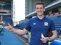 Blackburn Rovers' Paul Downing arrives at the ground<br /> <br /> Photographer Rachel Holborn/CameraSport<br /> <br /> The EFL Sky Bet League One - Blackburn Rovers v Oxford United - Saturday 5th May 2018 - Ewood Park - Blackburn<br /> <br /> World Copyright &copy; 2018 CameraSport. All rights reserved. 43 Linden Ave. Countesthorpe. Leicester. England. LE8 5PG - Tel: +44 (0) 116 277 4147 - admin@camerasport.com - www.camerasport.com