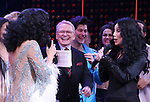 Stephanie J. Block, Bob Mackie and Cher during the Broadway Opening Night Curtain Call of 'The Cher Show'  at Neil Simon Theatre on December 3, 2018 in New York City.