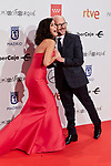 Elena Sanchez and Santiago Segura attends to XXV Forque Awards at Palacio Municipal de Congresos in Madrid, Spain. January 11, 2020. (ALTERPHOTOS/A. Perez Meca)