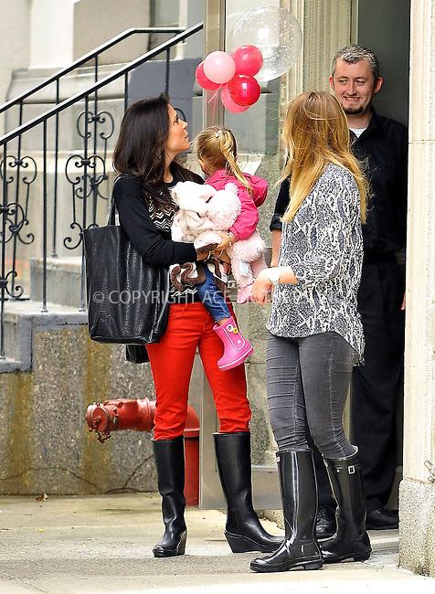 WWW.ACEPIXS.COM<br /> <br /> June 13 2013, New York City<br /> <br /> Bethenny Frankel carries her daughter Bryn Hoppy in Soho on June 13 2013 in New York City<br /> <br /> By Line: Romeo/ACE Pictures<br /> <br /> <br /> ACE Pictures, Inc.<br /> tel: 646 769 0430<br /> Email: info@acepixs.com<br /> www.acepixs.com