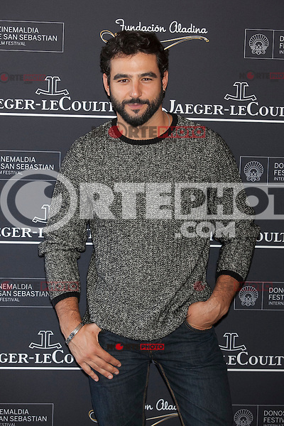 Actor Antonio Velazquez poses during Aladina Foundation presentation at 63rd Donostia Zinemaldia (San Sebastian International Film Festival) in San Sebastian, Spain. September 18, 2015. (ALTERPHOTOS/Victor Blanco) /NortePhoto.com