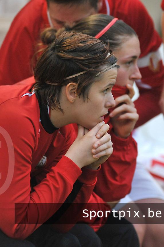 RSC Anderlecht Dames - Standard Femina de Liege : Maria Laura Aga.foto JOKE VUYLSTEKE / Vrouwenteam.be