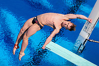 Picture by Alex Whitehead/SWpix.com - 11/04/2018 - Commonwealth Games - Diving - Optus Aquatics Centre, Gold Coast, Australia - Jack Laugher of England competes in the Men's 1m Springboard heats.