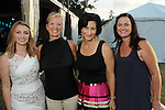 From left: Meagan Murdock, Renee King, Kristen Vassal and Chloe Lieberknecht at the Nature Conservancy's Nature Rocks  Gala at the Houston Polo Club Thursday Oct. 22,2015.(Dave Rossman photo)