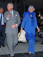 Prince Charles, Duchess of Cornwall, at a reception at the Museum of Islamic Art - Qatar
