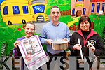 A cookery demonstration by Mark Doe at Killorglin CYMS is being hosted by Killorglin and Castlemaine community childcare services to help raise funds for both facilities. .L-R Rachel Ahern, Derek O' Leary ( Scamps and Scholars Killorglin) and Joanne O'Connor (Castlemaine Childcare Centre)