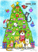Kate, CHRISTMAS ANIMALS, WEIHNACHTEN TIERE, NAVIDAD ANIMALES, paintings+++++Christmas page 50,GBKM162,#xa#