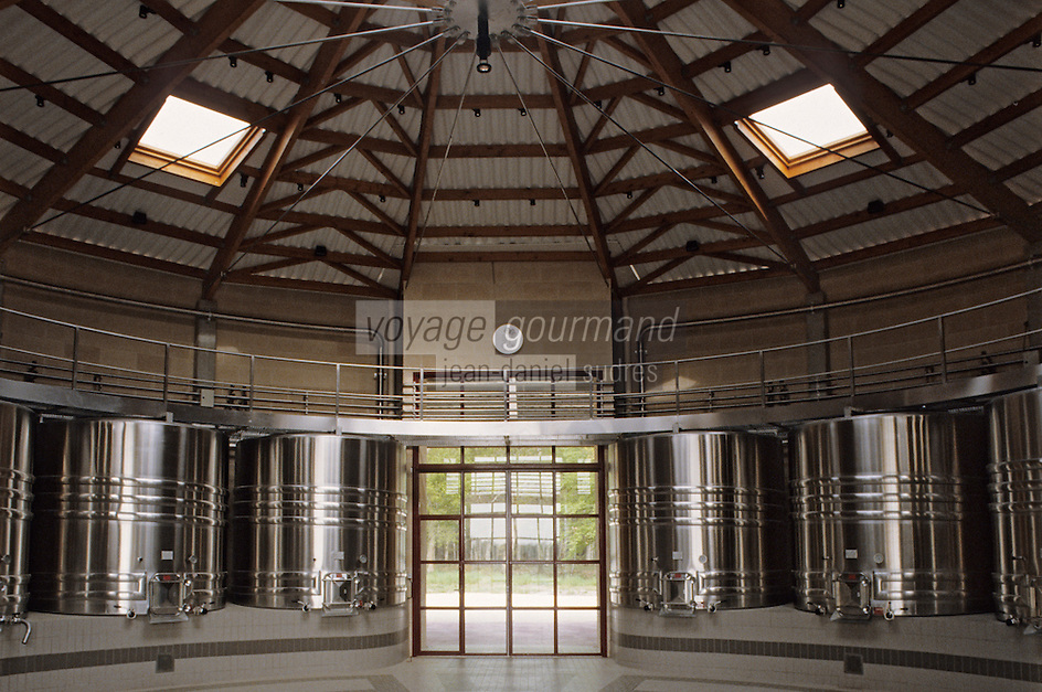 Europe/France/Aquitaine/33/Gironde : Domaine de Chevalier (AOC Graves) - Le cuvier