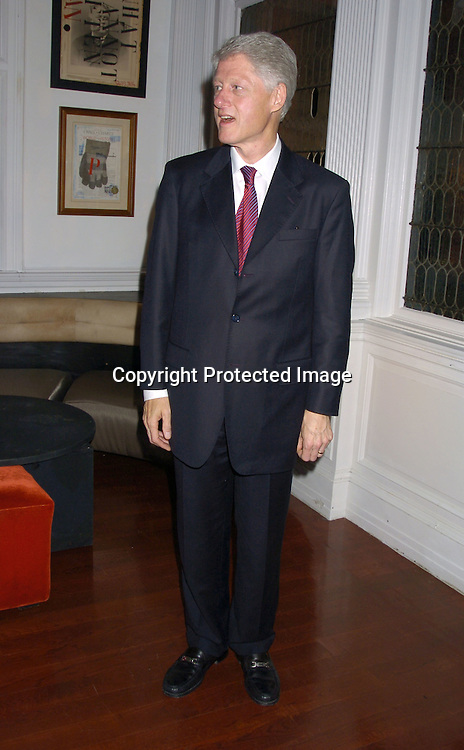 President Bill Clinton ..at The 2005 Do Something Brick Awards on April 19, 2005 at Capitale in New York City. ..Photo by Robin Platzer, Twin Images
