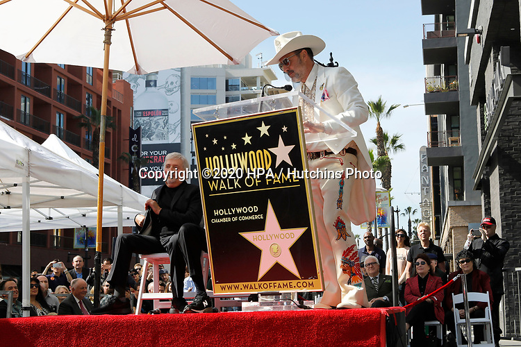 LOS ANGELES - FEB 13:  David Arquette at the Sid and Marty Kroft Star Ceremony on the Hollywood Walk of Fame on February 13, 2019 in Los Angeles, CA