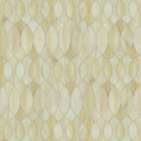 Anisa, a waterjet jewel glass mosaic, shown in in glass Agate.
