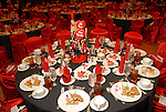 A sea of red in the ballroom at the American Heart Association Go Red for Women luncheon at the InterContinental Houston Monday May 04,2009.  (Dave Rossman/For the Chronicle)