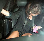 AbilityFilms@yahoo.com.805-427-3519.www.AbilityFilms.com...June 14th 2012   Exclusive  Thursday night ..Selena Gomez leaving Chick Fil A in Hollywood California with friends around 1am .Selena was wearing short black shorts carrying her pink iphone while getting into the car