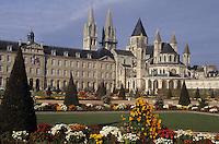 Europe/France/Normandie/Basse-Normandie/14/Calvados/Caen: L'Abbaye aux Hommes (Architecture romane et mauriste)