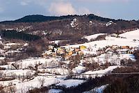 Pozzallo frazione di Romagnese, piccolo paese in provincia di Pavia, dove si trova la Cooperativa Agricola Canedo --- Pozzallo Romagnese, small village in the province of Pavia, is where  Canedo Agricultural Cooperative is located
