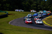 Porsche GT3 Cup Challenge USA<br /> Virginia International Raceway<br /> Virginia International Raceway, Alton, VA USA<br /> Sunday 27 August 2017<br /> Porsche GT3 Cup Challenge USA, Race 2<br /> World Copyright: Jake Galstad<br /> LAT Images
