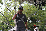 Brand Nubians (Lord Jamar) Perform at Rock Steady Crew 36th Year Anniversary Celebration at Central Park's SummerStage, NY