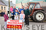 The 5th Annual Sean O'Shea Vintage Tractor Run in aid of Motor Neurons Disease will take place this Saturday - gathering at 11:30am and starting from the Fair Field in Cahersiveen, pictured here front l-r; Clara O'Sullivan, Killian Lynch, Eibhlin Lynch, back l-r; Naomi O'Sullivan, Brendan O'Sullivan(Organiser), Colman Lynch, Cormac Lynch(Organiser) & Pat Shine.