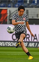 Makoto Hasebe (Eintracht Frankfurt) - 26.05.2020 Fussball 1.Bundesliga Spieltag 28, Eintracht Frankfurt  - SC Freiburg emspor, <br /> <br /> Foto: Jan Huebner/Pool/ Via Marc Schueler/Sportpics.de<br /> (DFL/DFB REGULATIONS PROHIBIT ANY USE OF PHOTOGRAPHS as IMAGE SEQUENCES and/or QUASI-VIDEO), Editorial use only. National and International News Agencies OUT