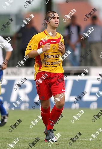 2010-08-01 / Seizoen 2010-2011 / Voetbal / Duffel / Ken Vets..Foto: mpics