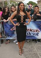 "14 February - Pasadena, California - Melanie Brown. NBC's ""America's Got Talent"" Season 11 Kickoff  held Pasadena Civic Auditorium. Photo Credit: Sammi/AdMedia"