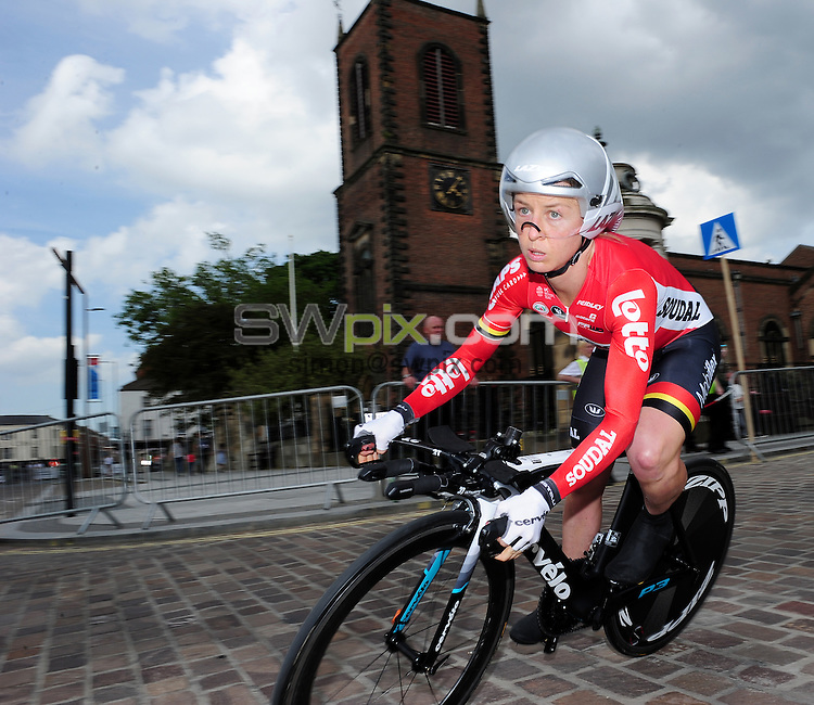 Picture by/SWpix.com - 23/06/2016 - Cycling - British Cycling National Championships - Womens Time Trial - Stockton-upon-Tees, England - <br /> Emma Pooley<br /> copyright picture - Simon Wilkinson - simon@swpix.com