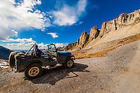 13, 114 foot (3997m) Imogene Pass, San Juan Mountains, southwest Colorado USA.