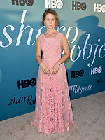 Eliza Scanlen at the premiere for the HBO series &quot;Sharp Objects&quot; at the Cinerama Dome, Los Angeles, USA 26 June 2018<br /> Picture: Paul Smith/Featureflash/SilverHub 0208 004 5359 sales@silverhubmedia.com