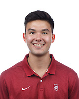 Stanford, CA - September 20, 2019: Drew Taylor, Athlete and Staff Headshots