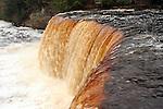 The Upper Tahquamenon Falls in Upper Michigan.