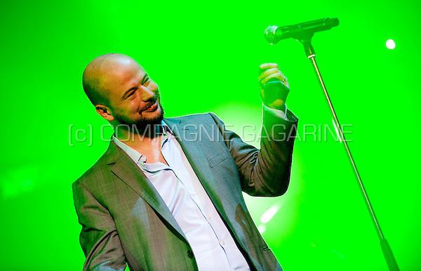 Flip Kowlier at the Humo's Pop Poll Deluxe awards ceremony in Antwerp (Belgium, 14/03/2010)