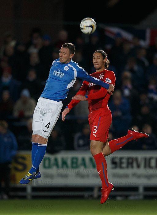 Andy Dowie and Bilel Mohsni