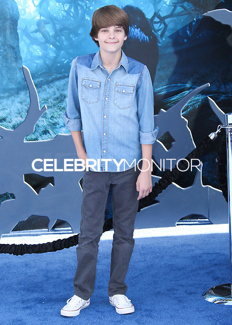 HOLLYWOOD, LOS ANGELES, CA, USA - MAY 28: Corey Fogelmanis at the World Premiere Of Disney's 'Maleficent' held at the El Capitan Theatre on May 28, 2014 in Hollywood, Los Angeles, California, United States. (Photo by Xavier Collin/Celebrity Monitor)