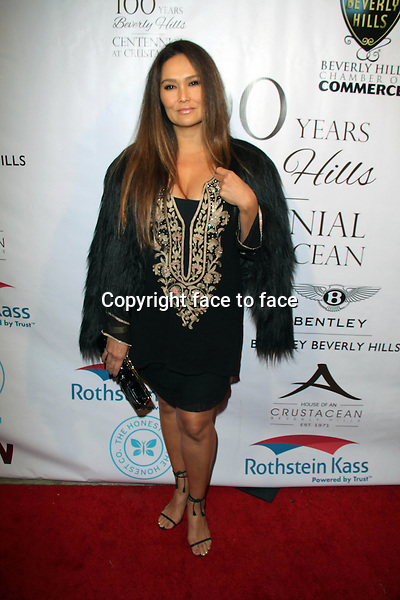 BEVERLY HILLS, CA - February 05: Tia Carrere at Experience East Meets West honoring Beverly Hills' momentous centennial year, Crustacean, Beverly Hills, February 05, 2014.<br />