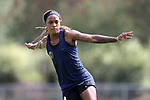 CARY, NC - AUGUST 24: Jessica McDonald. The North Carolina Courage held a training session on August 24, 2017, at WakeMed Soccer Park Field 7 in Cary, NC.